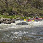 Nice small rapids (Class II at most) - Duckie trip