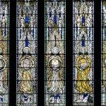 A window of angels ...