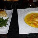 Crevettes au miel et citronnelle