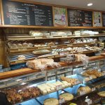 Choices are endless in both sweet and savoury foods.