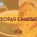 Delícias quentinhas. ^_^ Várias opções para você experimentar. ;) #donamaria #comidaria #delicia