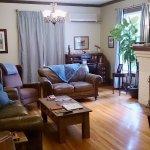 Living room in Ferland Suite