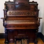 Pump organ in Living Room