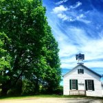 The Walpack School House! Stop on in on your way to the Inn! (: