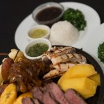Churrascada - A combination of grilled meats and sausages, served an array of great sides.