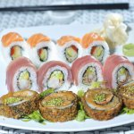 simply delicious sushi fusion style