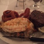 Filet and Lobster tail.