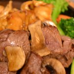 hibachi chicken and beef