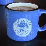 Enjoying my morning coffee