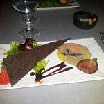 Foie gras au top