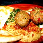 Moroccan Meatballs Plate, Tropicale, Palm Springs, CA