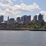 Boston skyline from Naval Yard