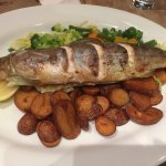 Arctic Charr.  Sadly rather tasteless so not worth the 21.95.  Everything else has been great.