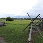 Field where the Union soldiers were camped