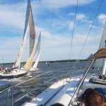 yacht racing, we got first place for the summer series 1 this year!
