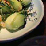 Baby bak choi with garlic