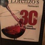 Foto de Lorenzos Italian Steakhouse