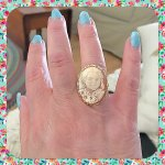 Beautiful cameo ring
