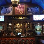 Amazing bar area
