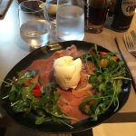 Mouthwatering Italian food, very close to what we would have at home!