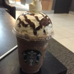 Java Chip Frapp made by a trainee
