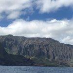 The spectacular Napali Coast