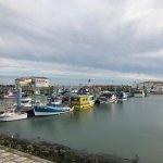 Août 17 Le port de la cotiniere