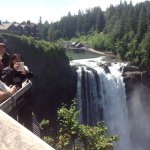 Beautiful Snoqualmie Falls, scene of Twin Peaks!