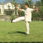 Tai chi lessons from a master in Yangshou