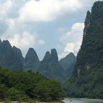 Li River cruise between Guilin and Yangshou