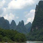 Li River cruise between Guilin and Yangshou