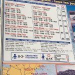 Water Taxi/Ferry Timetable