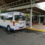 Shuttle Bus at Barcelo Playa Tambor in Puntarenas