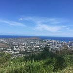 See Diamond Head in the distance?