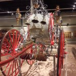 This one was constructed and decorated for parades only - competitions between hose companies.