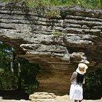 Pivot Rock and Natural Bridge