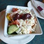 The small greek salad