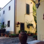 My favourite view! Sitting on the Terrazzo at Villa Pandolfini 1