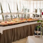 Buffet Breakfast Room at Hotel Villa Real Madrid