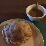 The pasty that reminds me of one of Mrs. Lovett's meat pies...