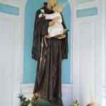 Imágen de San Antonio dentro de la capilla