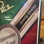 Фотография Pia's Pizzeria Restaurant