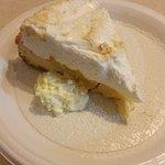 dessert - lemon meringue pie!