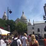 Sacre Coeur from the square