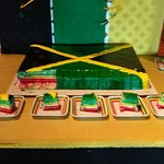 Happy Independence Day Jamaica ! Come to DownTown Dededo and get a piece of the cake!