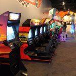 Racing arcade machines