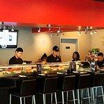 Sushi  counter .