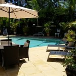 Noosa Cove's Pool and sunlounge area