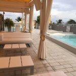Gorgeous pool with sea views