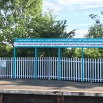Llanfairpwll Railway Station namel - have a go at pronouncing it yourself!